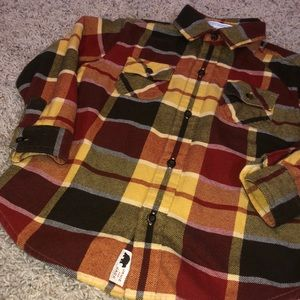 Janie and Jack flannel :: boys toddler size 3